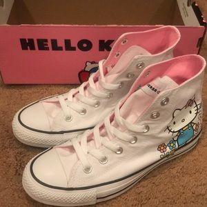 New Hello Kitty Converse High Tops